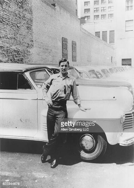 Neal Cassady in a Denver car lot Neal Cassady a prominent figure in the Beat Generation of the 1950s and characters inspired by him appeared in many...