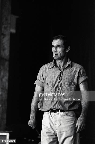 Neal Cassady of the Merry Pranksters smokes a cigarette Cassady is best known as the main character of Jack Kerouac's semiautobiographical novels On...