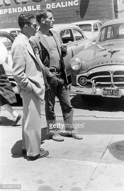 Neal Cassady San Francisco 1955 Neal Cassady age 29 young and handsome 1955 San Francisco North Beach used car lot Bay area Johnny Appleseed of Pot...