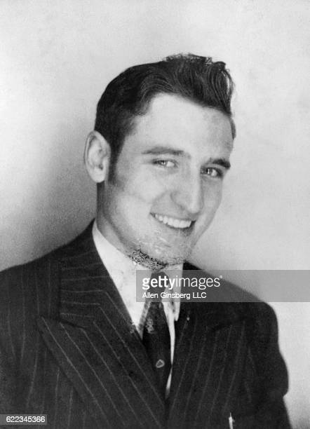 Neal Cassady the inspiration for the Dean Moriarty character in Jack Kerouac's novel On the Road wears his first suit from a Chinatown tailor