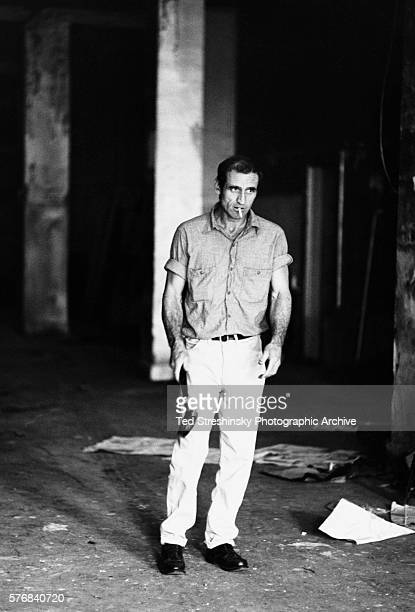 Neal Cassady who was the basis for the hero of Jack Kerouac's On the Road Dean Moriarty and later one of the Merry Pranksters flips a sledgehammer at...