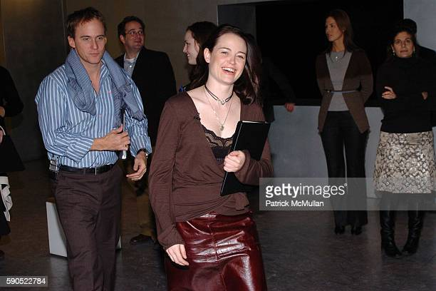 Neal Huff and Sprague Grayden attend Fondazione Prada and Drama Dept present a special reading at Prada in SoHo on January 24 2005 in New York City
