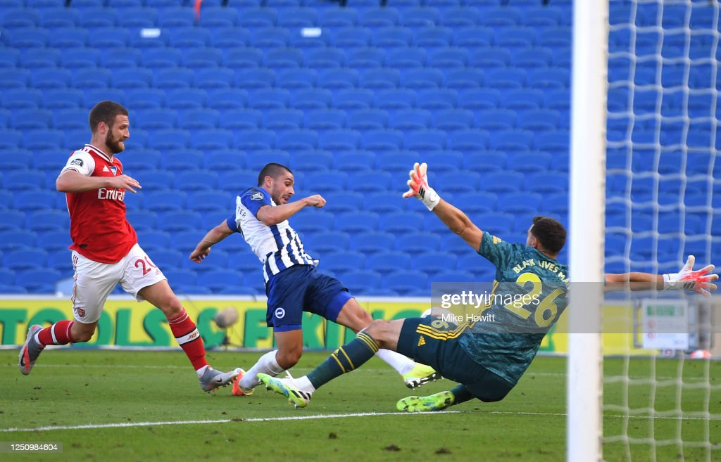 Brighton & Hove Albion v Arsenal FC - Premier League : News Photo