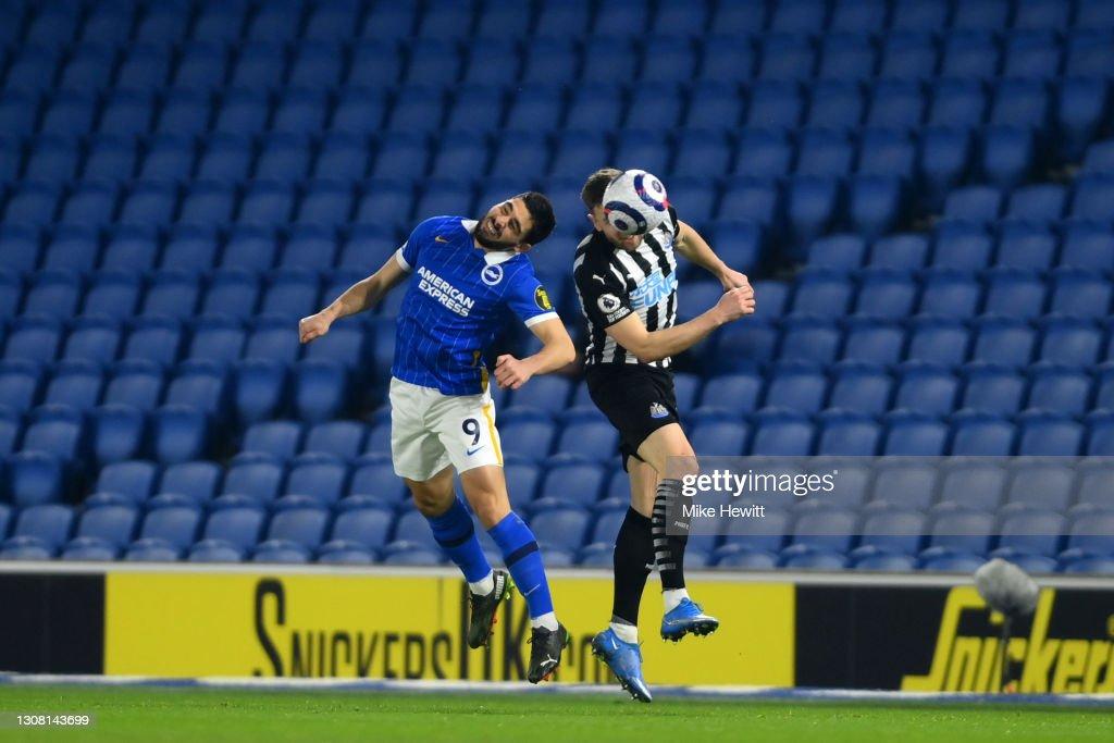 Brighton & Hove Albion v Newcastle United - Premier League : News Photo