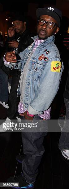 Neal McKnight attends the Brand Jordan Akon bowling event at Lucky Strike on April 16 2009 in New York City