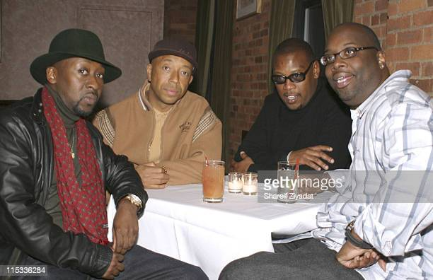 O'Neal McKnight Russell Simmons Andre Harrell and Mike Kyser