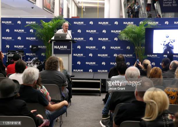 Neal Preston makes an appearance at the the 2019 NAMM Show at the Anaheim Convention Center on January 26 2019 in Anaheim California