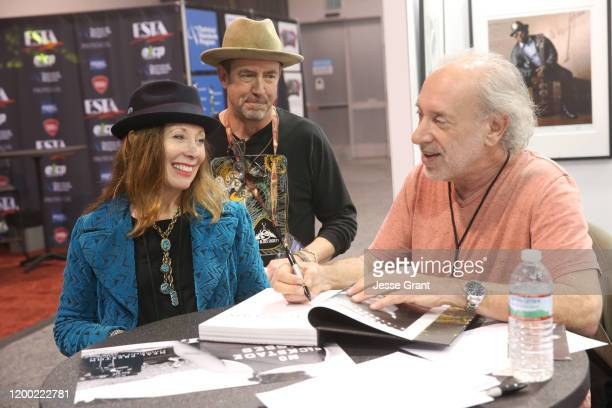 Neal Preston signs autographs at The 2020 NAMM Show on January 17, 2020 in Anaheim, California.