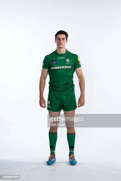 Neal Ross of London Irish poses for a picture during the BT PhotoShoot at Sunbury Training Ground on August 27 2014 in Sunbury England