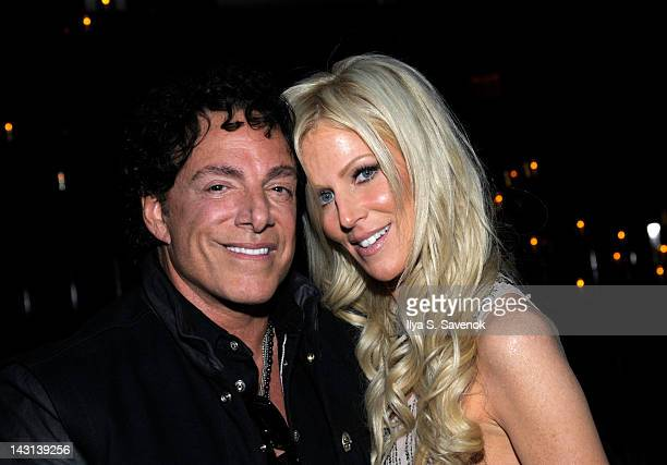 Neal Schon and girlfriend Michaele Salahi attend the after party for the premiere of 'Don't Stop Believin' Everyman's Journey' during the 2012...