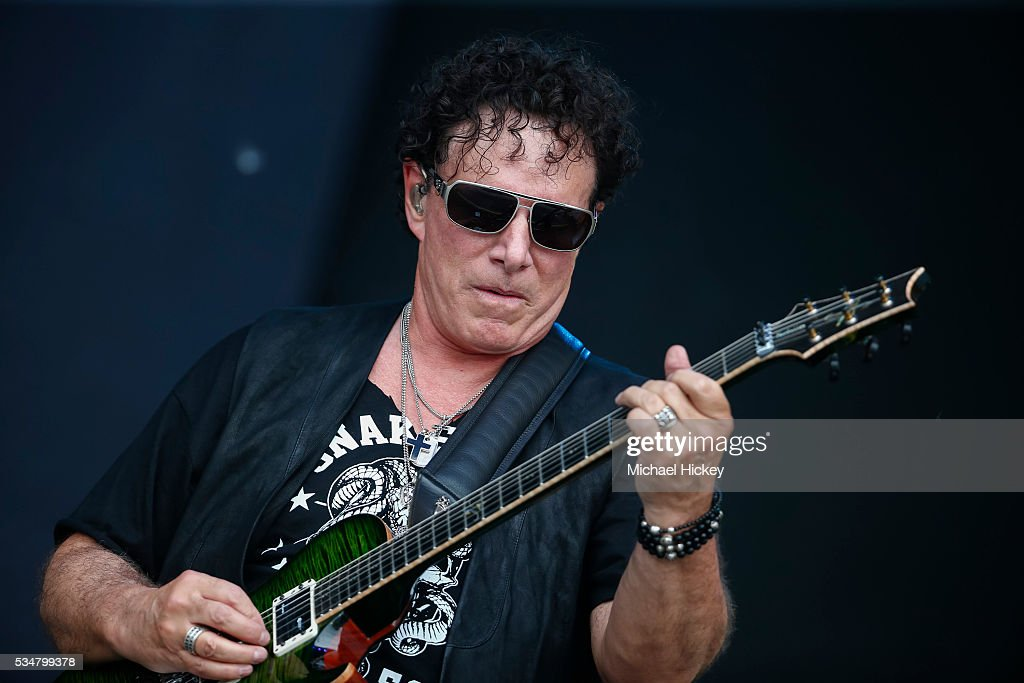 IN: Neal Schon And Vortex Perform On Carb Day At the 100th Indianapolis 500