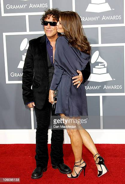 Neal Schon; Ava Fabian attend The 53rd Annual GRAMMY Awards at Staples Center on February 13, 2011 in Los Angeles, California.