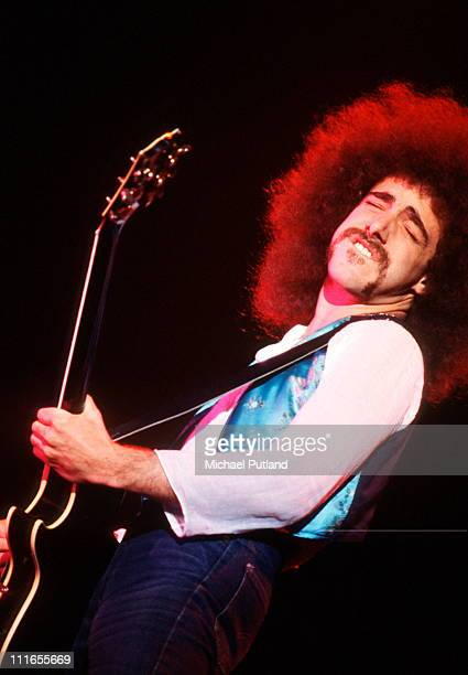 Neal Schon of Journey performs on stage New York 1978