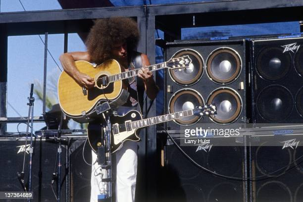Neal Schon performing with 'Journey' at the Cal Expo in Sacramento California on April 18 1980
