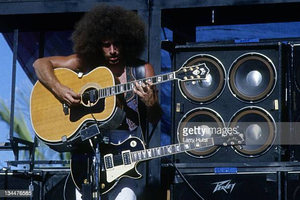 Neal Schon with 'Journey' at Cal Expo in Sacramento California on April 18 1978