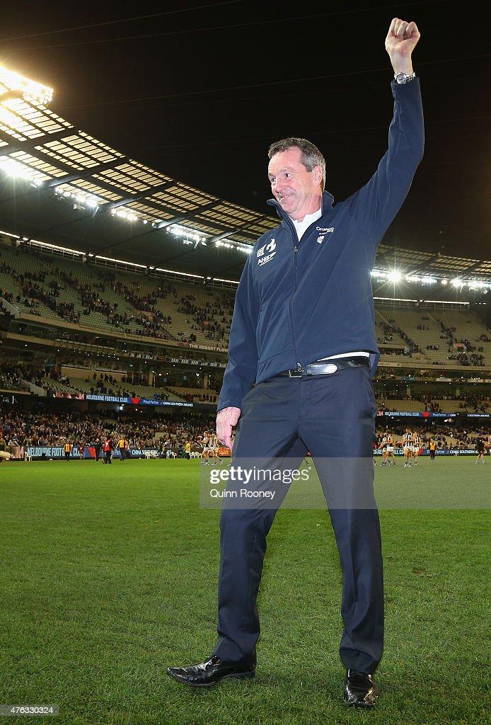 AFL Rd 10 - Melbourne v Collingwood