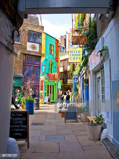 neal's yard em londres - covent garden - fotografias e filmes do acervo