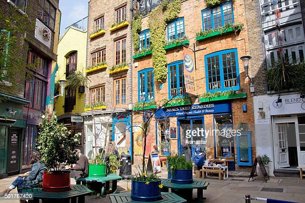 Neal's Yard in London, Camden Town