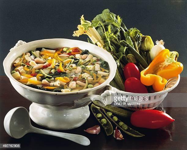 Neapolitan vegetable soup Naples Campania Italy