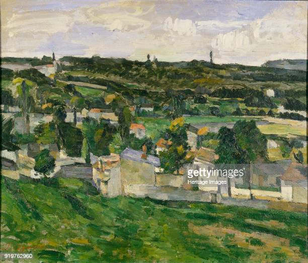 Near AuverssurOise 1880s Artist Paul Cezanne