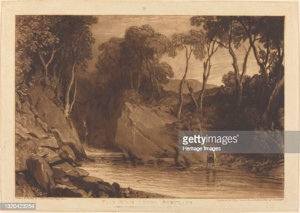 Near Blair Athol, published 1811. Artist JMW Turner.