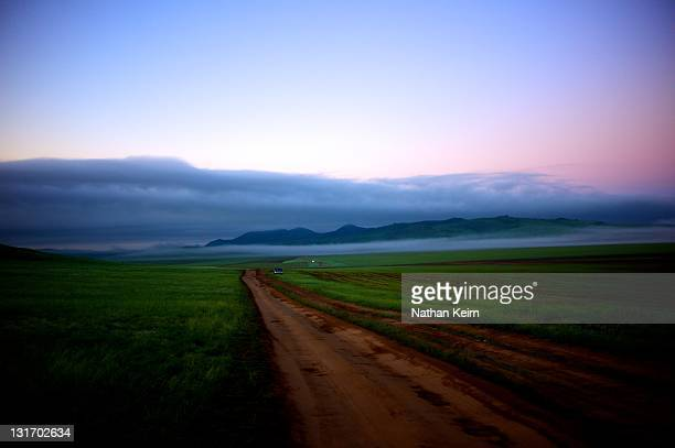 near darkhan, mongolia - darkhan stock pictures, royalty-free photos & images