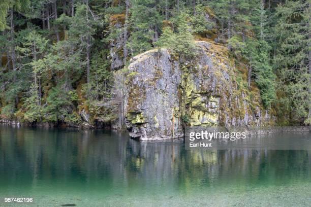 near diablo dam - diablo lake fotografías e imágenes de stock
