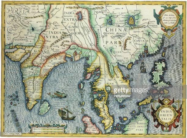 Near East Map 1606.