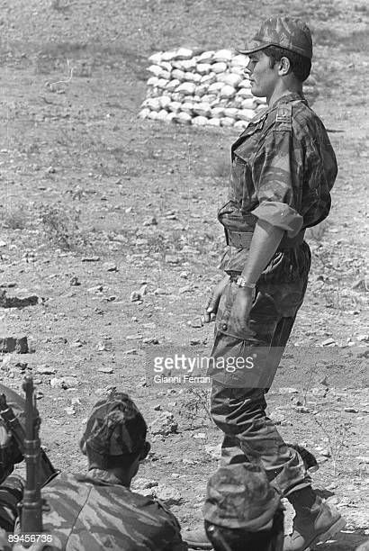 near from Almeria Almeria Spain The actor Alain Delon during the filming of the movie 'Lost Command'