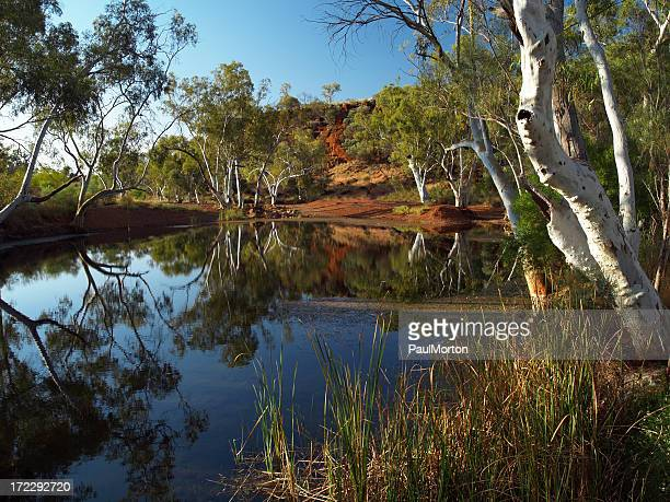 Near Karijini National Park in Western Australia