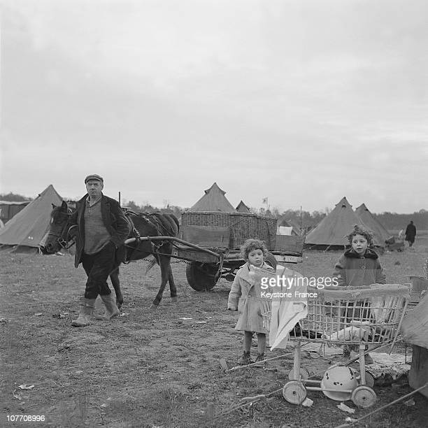 Nearby Noisy Le GrandIn An Emmaus CampBad Housed Still Live Under Marabout Tents In 1954