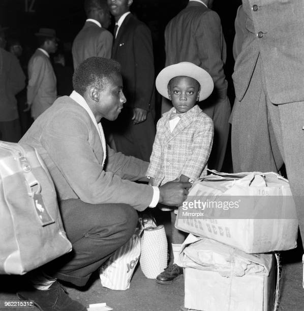 Nearly 1000 West Indian immigrants arrive in three boats trains at Waterloo Station. Many brought with them packing cases containing treasured...