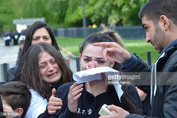 Nearly 600 people attend the march held by friends of Diren to commemorate him in Hamburg Germany on May 2 2014 Relatives of Diren burst into tears...