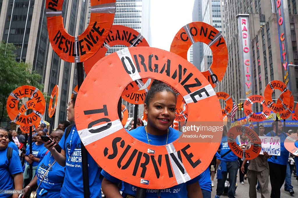 Climate March in New York : News Photo