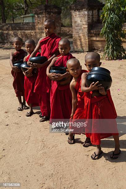 Nearly all Burmese boys become novice monks usually between the ages of 10 and 20 All things possessed by novice monks must be offered by the...