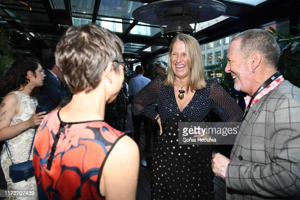Neasa Hardiman attends prescreening cocktail reception for the world premiere film Sea Fever at Pick 6ix Sports on September 05 2019 in Toronto Canada