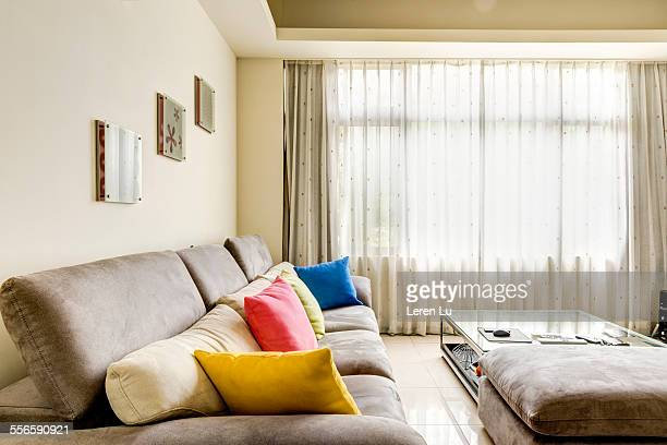 Neat and tidy living room