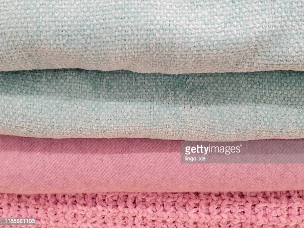 Neatly folded sweater