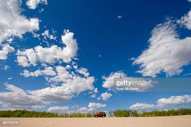 nebraska beach truck - ryan mcginnis stock photos and pictures