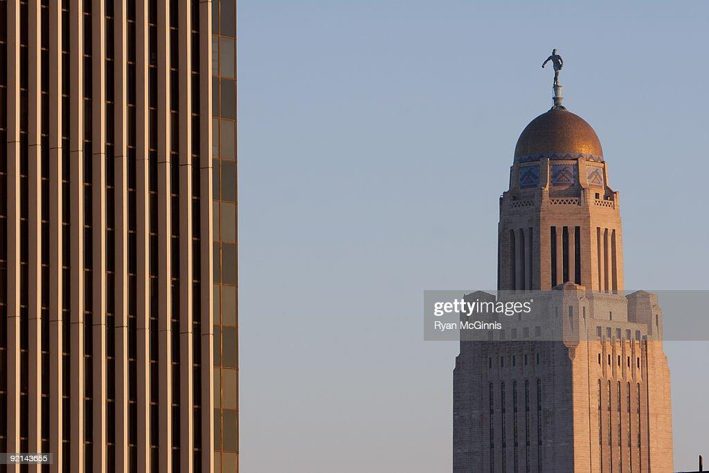 Nebraska Captiol Building  : Stock Photo