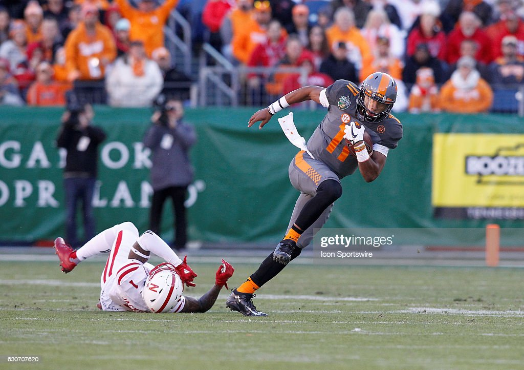 NCAA FOOTBALL: DEC 30 Music City Bowl - Nebraska v Tennessee : News Photo