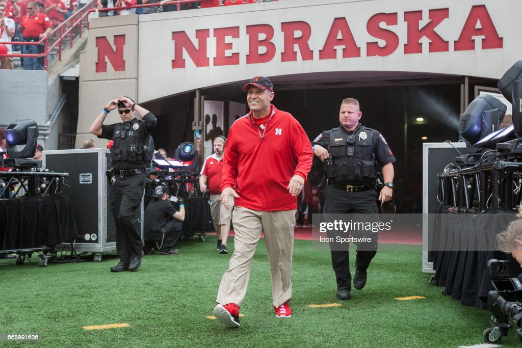 COLLEGE FOOTBALL: APR 15 Nebraska Spring Game : News Photo