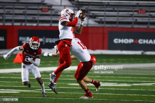 Nebraska Cornhuskers wide receiver Alante Brown during the college football game between the the Rutgers Scarlet Knights and the Nebraska Cornhuskers...