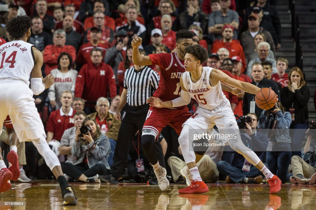 COLLEGE BASKETBALL: FEB 20 Indiana at Nebraska