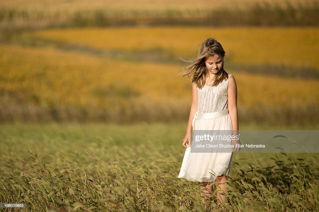 Nebraska Girl : Stock Photo