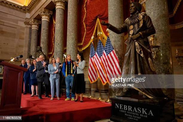 Nebraska Governor Pete Ricketts, US Representative Jeff Fortenberry, US Senator Deb Fischer, US House Minority Leader Kevin McCarthy, US Senate...