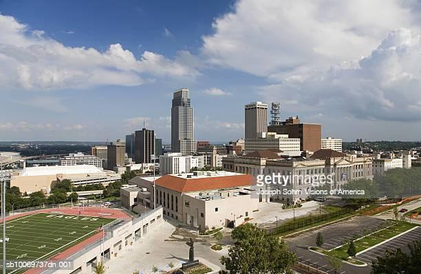 USA, Nebraska, Omaha, Creighton University and Morrison Football Stadium