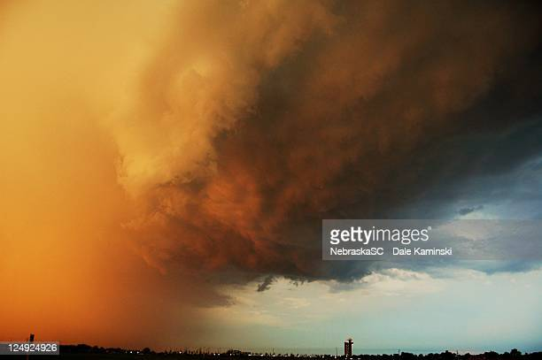 nebraska storm - dust storm stock pictures, royalty-free photos & images