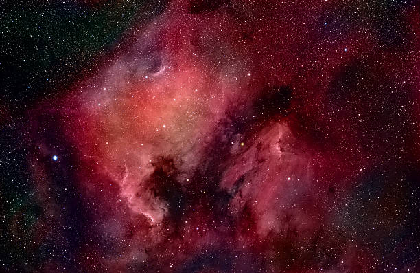 Nebulae In Cygnus Wall Art