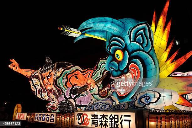 ねぶたフェスティバル、青森、日本の